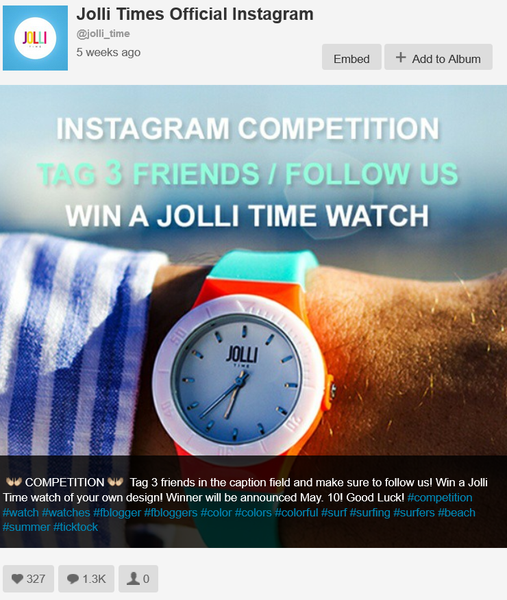 Instagram Competition Strategies