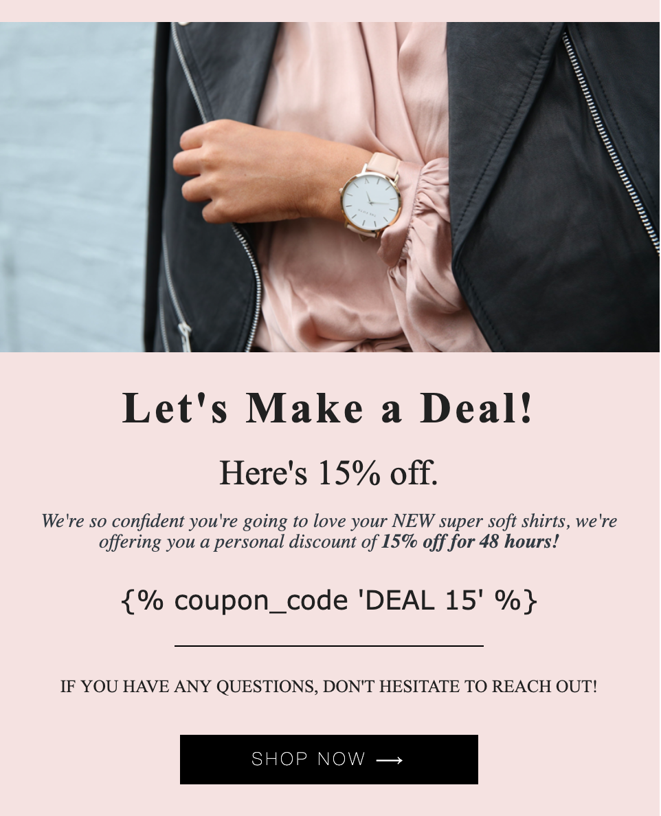 Klaviyo Email Marketing Agency MuteSix - Prevent Discount Sharing with Klaviyo's Unique Coupon Codes for Shopify