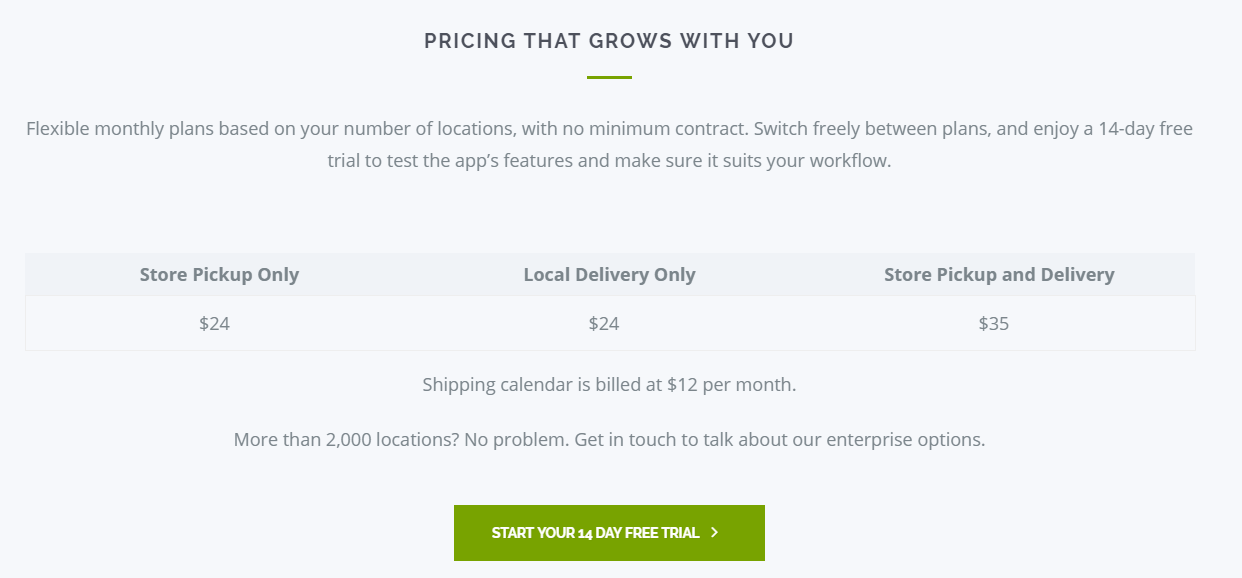 deliv and shopify