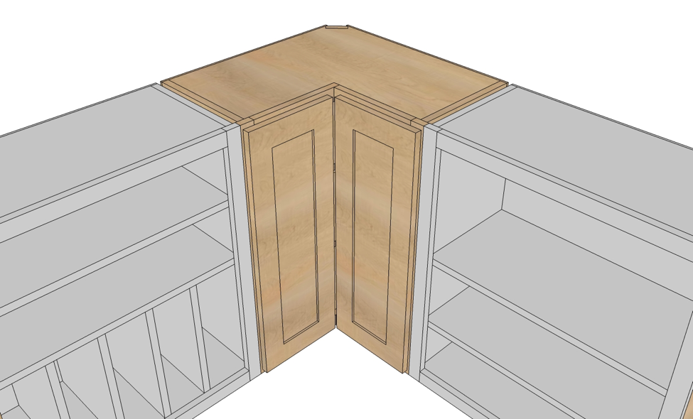 Kitchen Cabinets Blind Corner Cabinet Solutions