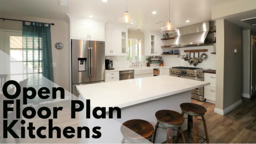 Popular Kitchen Designs Open Floor Plan Kitchens