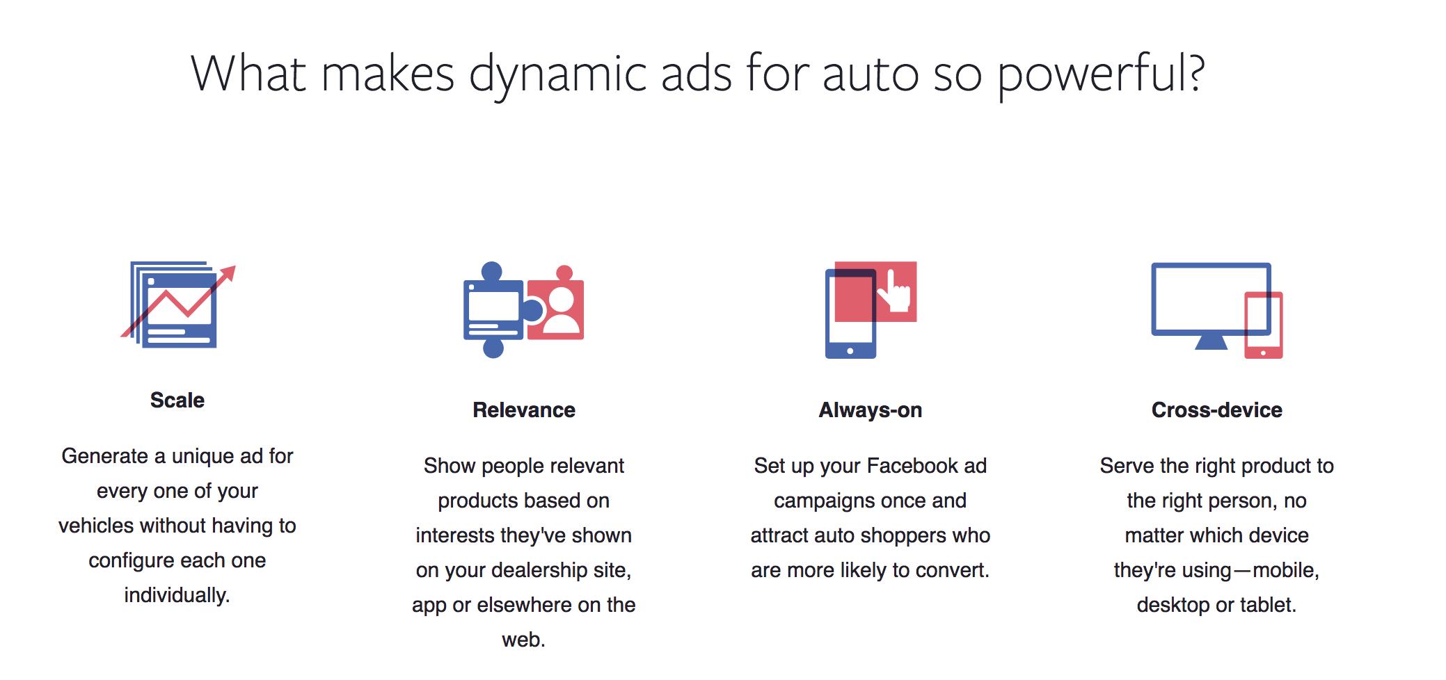 Why dynamic ads work