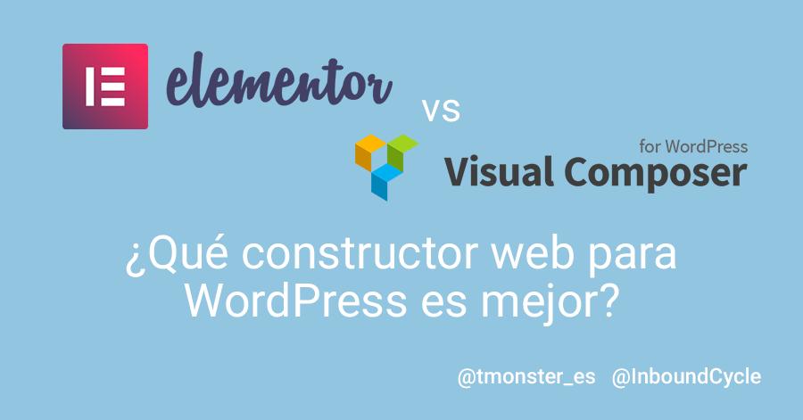 Elementor o Visual Composer: ¿Qué constructor web para WordPress es ...