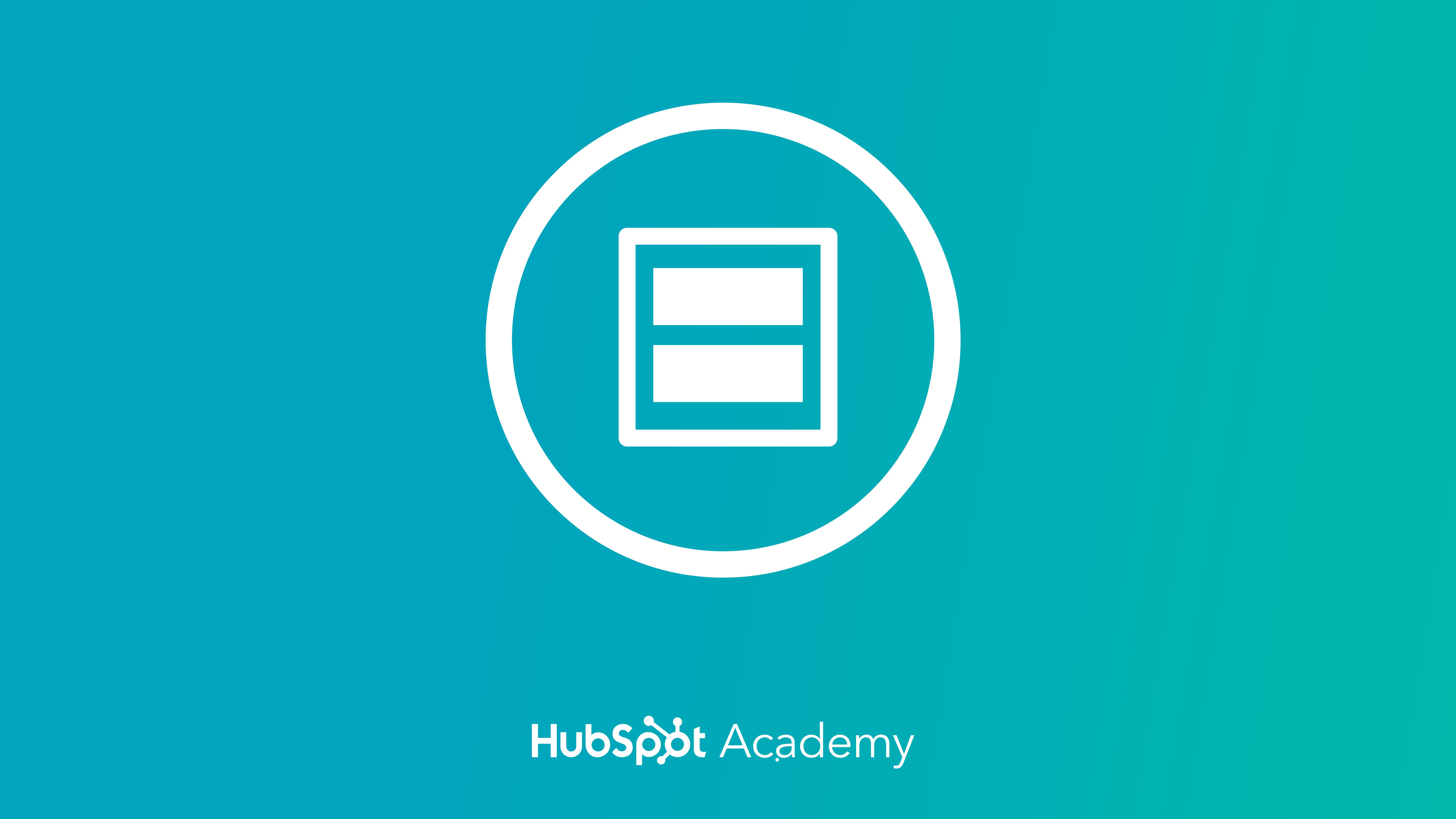 HubSpot Design Certification course by HubSpot Academy