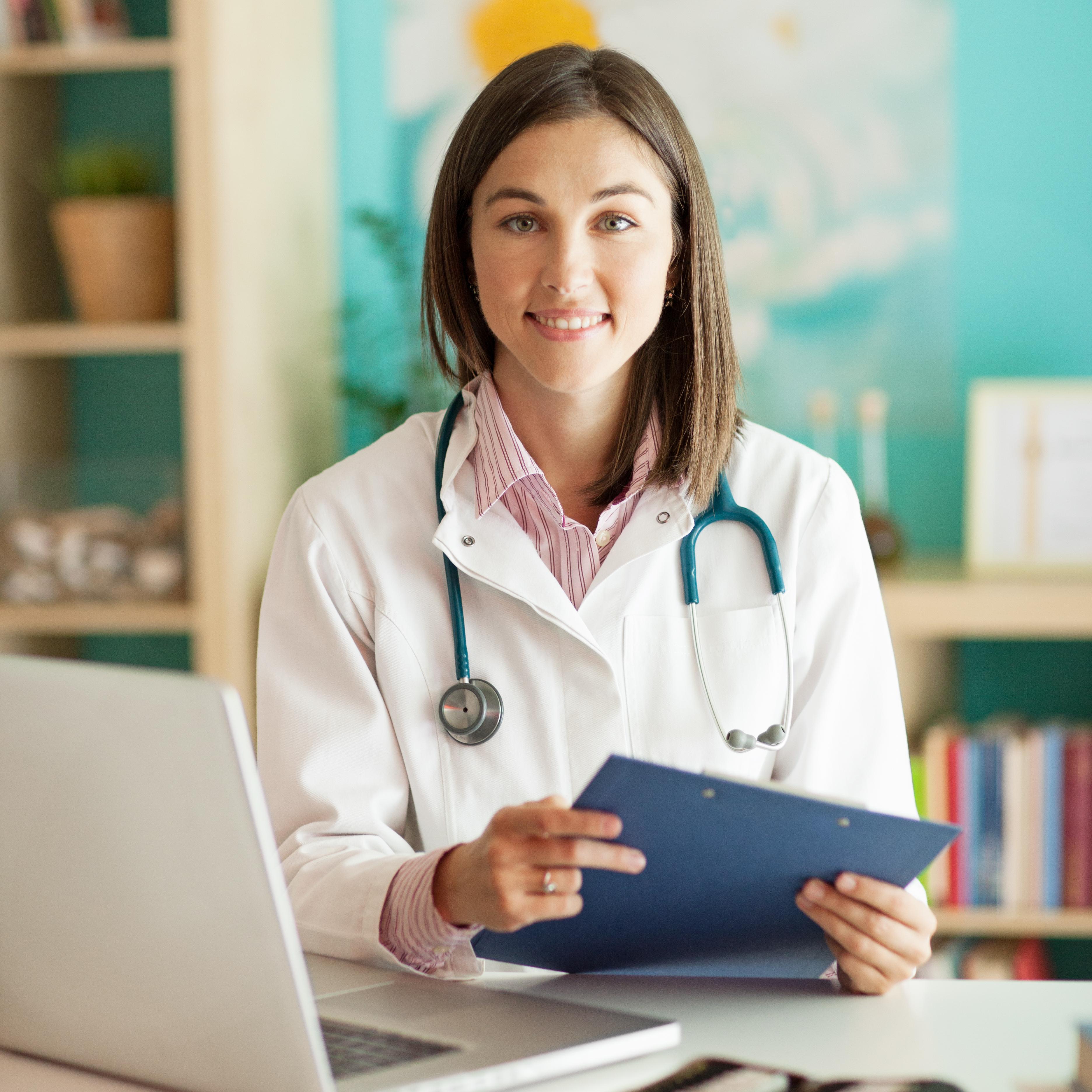 nurse_folder and laptop