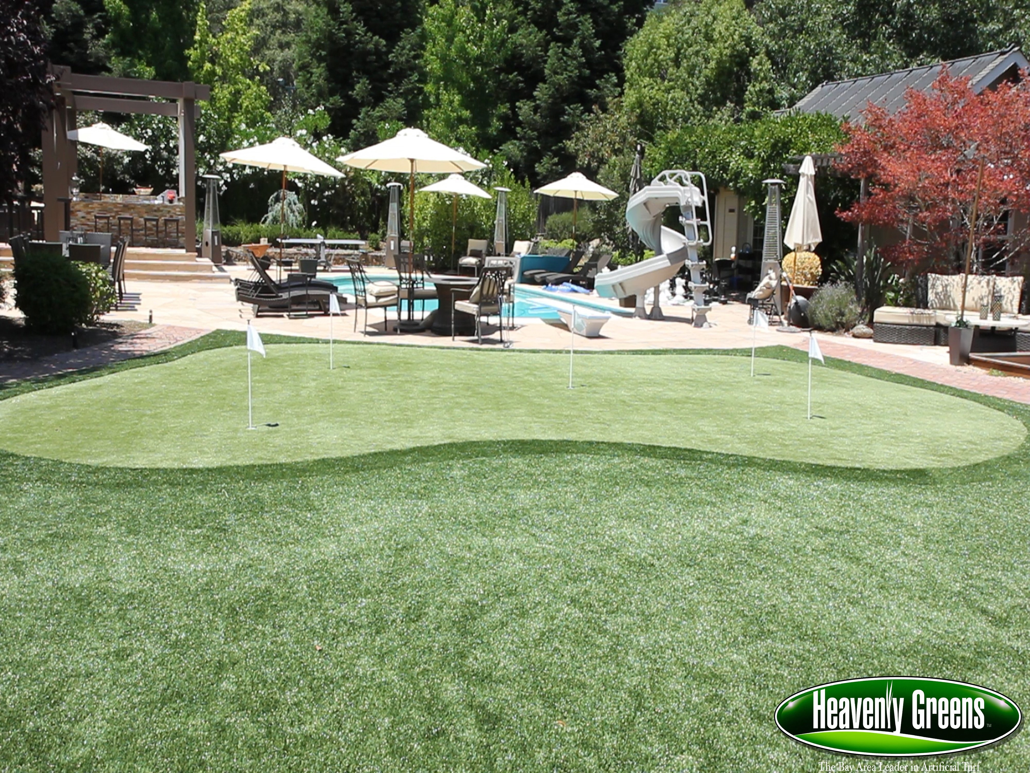 putting green turf gallery