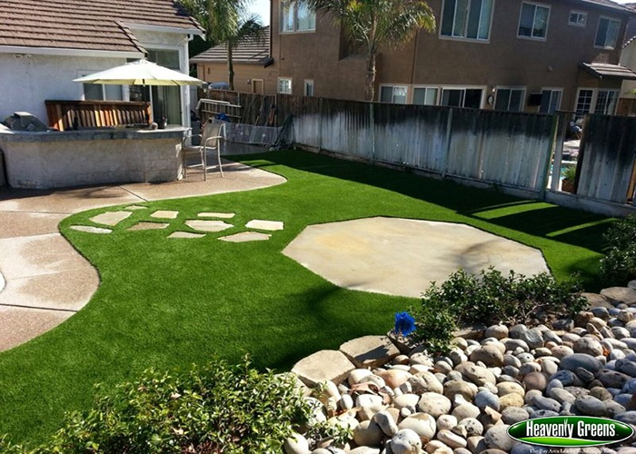 Yards gallery with no worries about mowing or shade you can create any size or shape lawn walkway play area or pool surround or green up your deck patio or balcony solutioingenieria Image collections