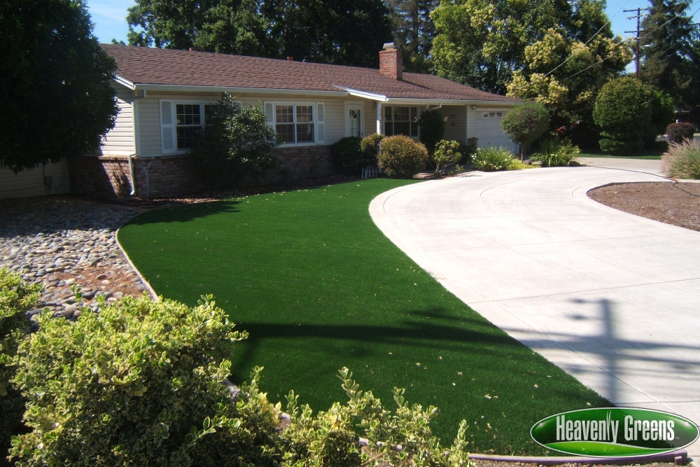 artificial grass for front yard