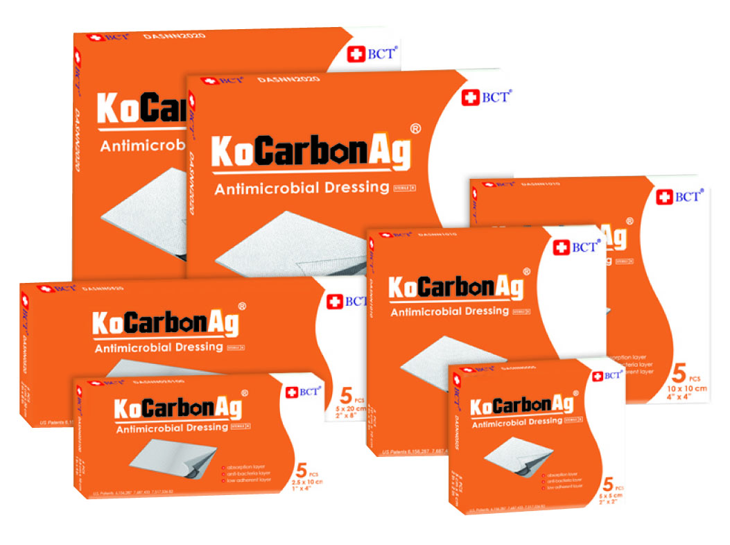 Kocarbon Ag Silver Wound Dressing