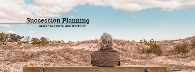 Succession Planning. What is your personal vision and timing?