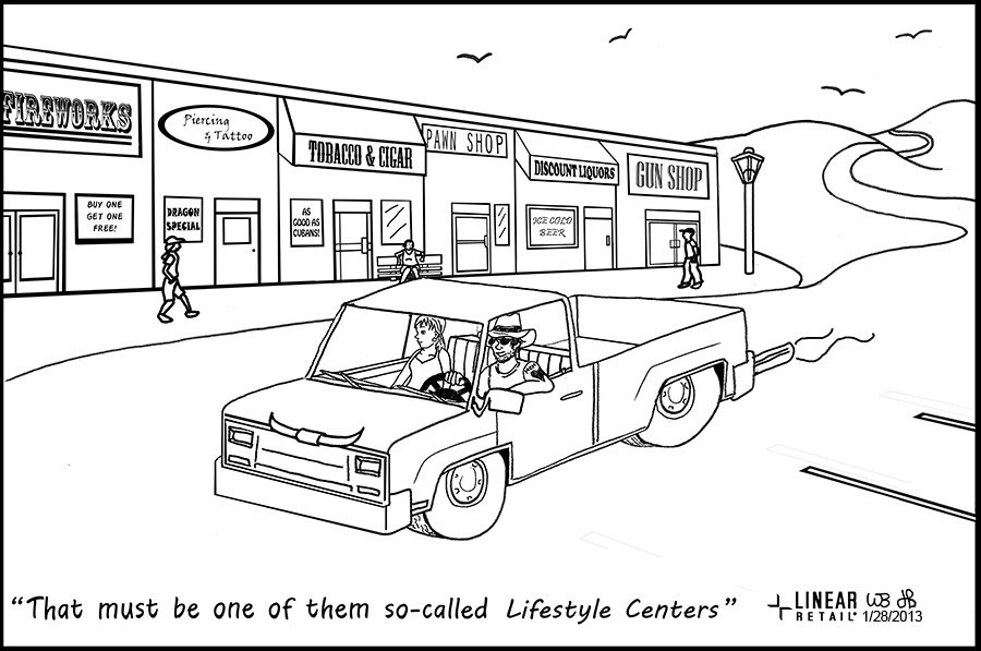 Lifestyle Centers Comic