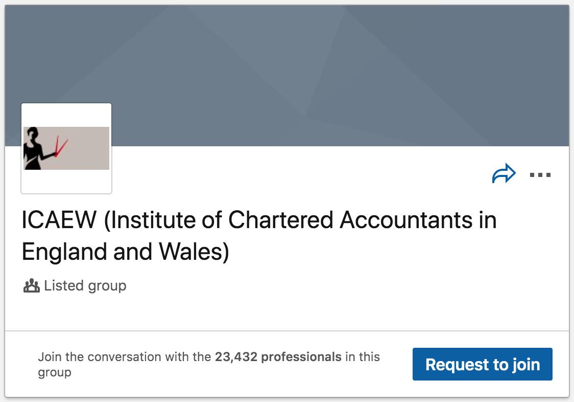 ICAEW LinkedIn Group