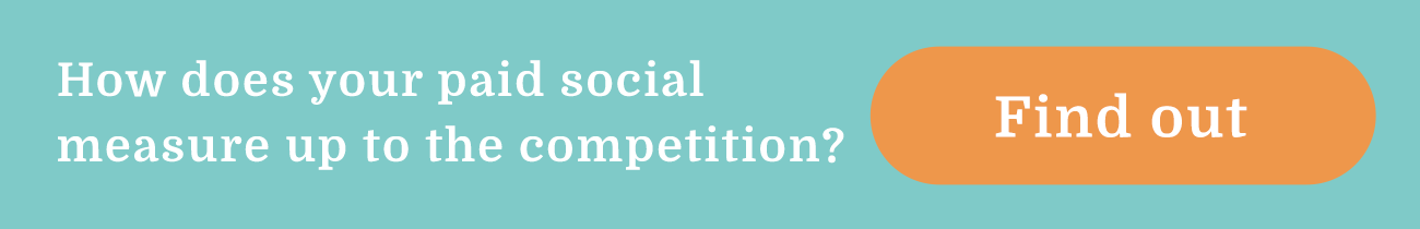 How does your paid social measure up to the competition? Find out.