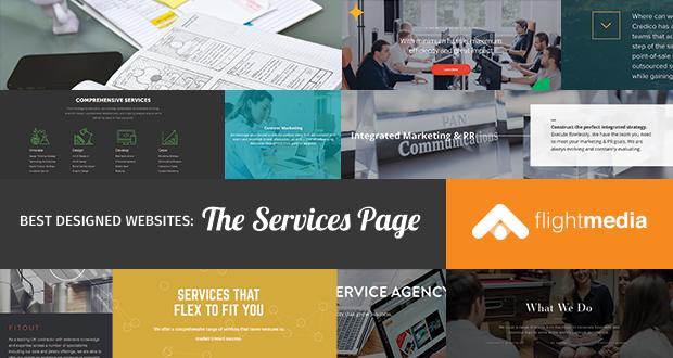 Best Website Design: The Services Page (Part 4)