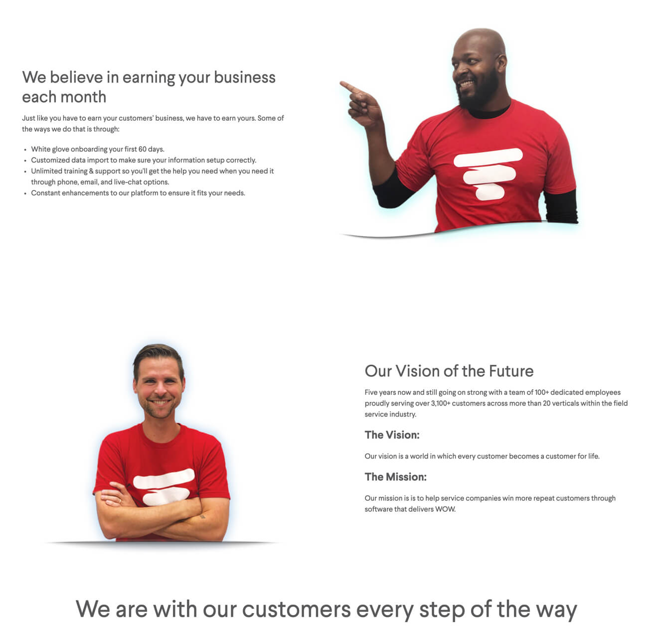 Why choose Service Fusion on desktop