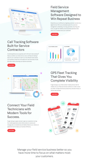 Service Fusion product screenshot