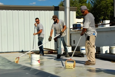 Flat Roof Repair Mechanically Attached Or Fully Adhered