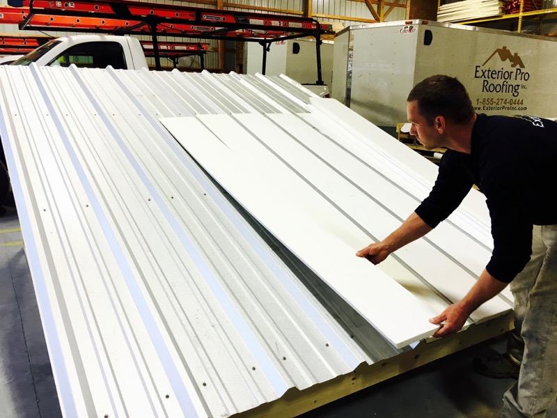 Metal Roof Repair Pvc Metal Roof Recover System