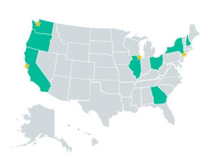 fair workweek map