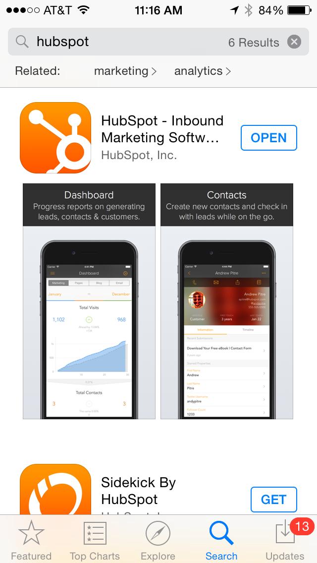 App-Store-Optimisation_-_HubSpot_iPhone