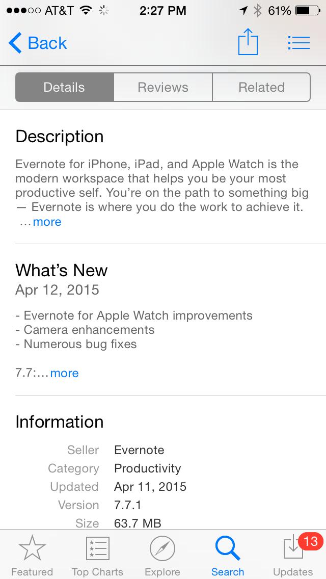 App_-_Evernote_Description_iPhone