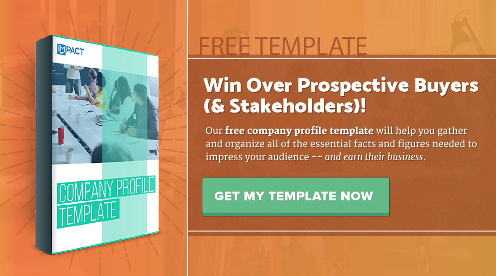 10 Examples of Company Profile Pages You Can Learn From Free – Template for Business Profile