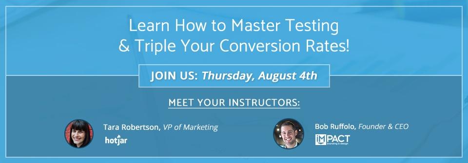 Marketing Workshop in CT - Master Conversion Optimization