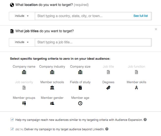linkedin_sponsored_update_audience