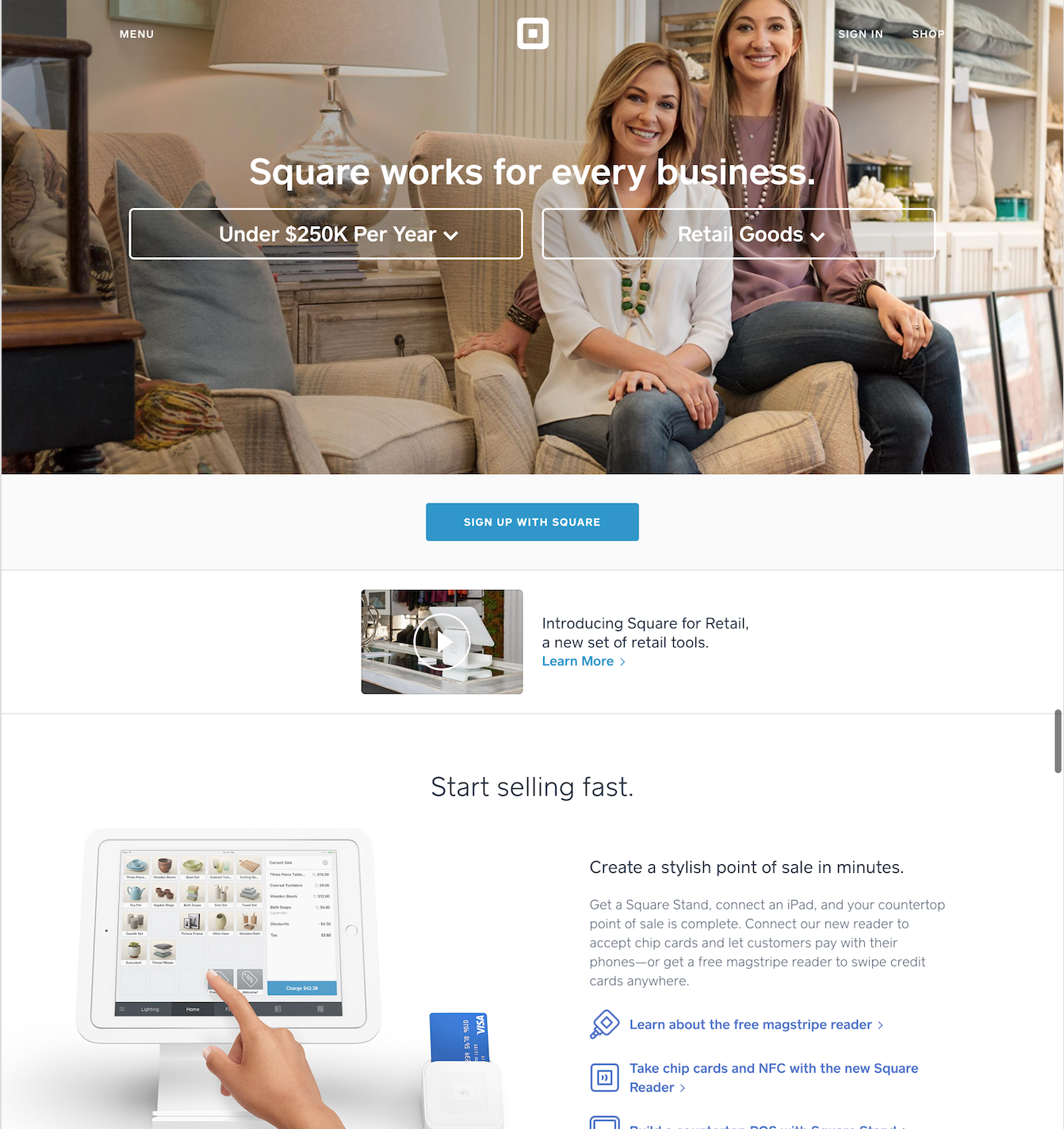 landing-page-example-square