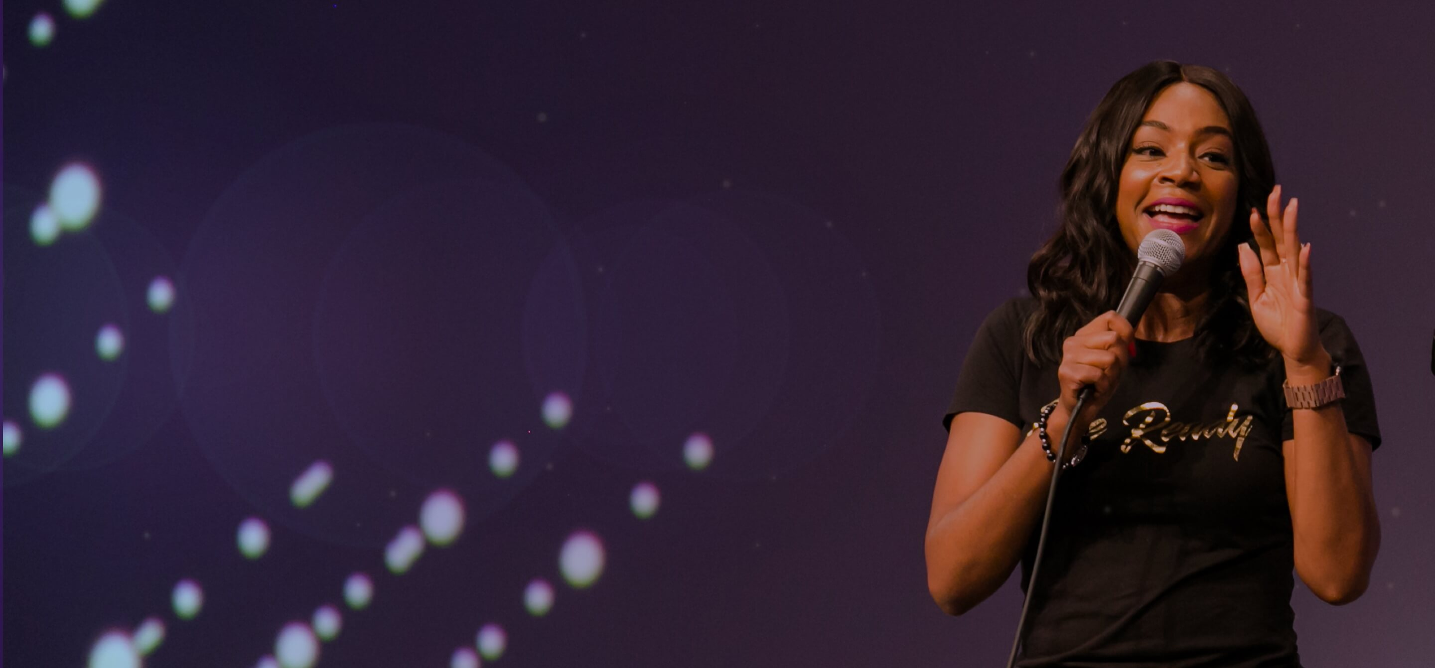 INBOUND 2018 Comedian Tiffany Haddish performing at INBOUND Rocks event