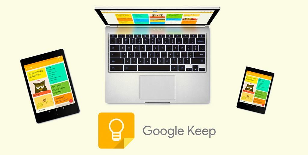 google keep how to use