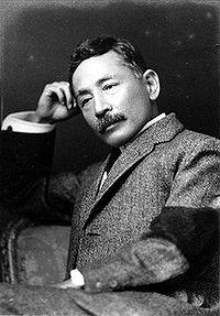 Japanese novelist Soseki Natsume (1867-1916)