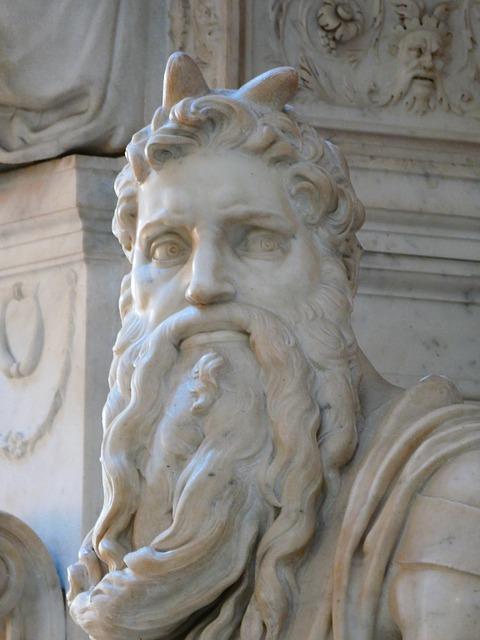 サン ピエトロ大聖堂 モーゼ像