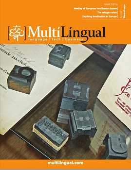 MultiLingual Magazine Cover.