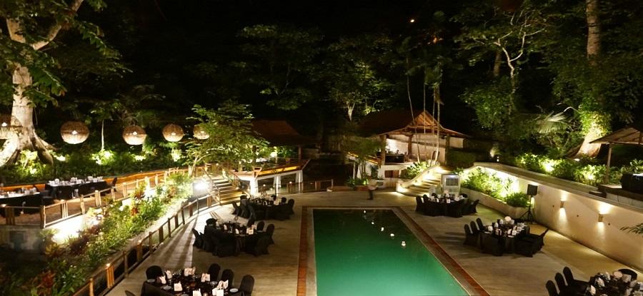 Terrace at Tamarind Springs in Kuala Lumpur