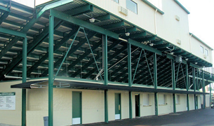 Toadvine Service Maintenance scoreboards bleachers