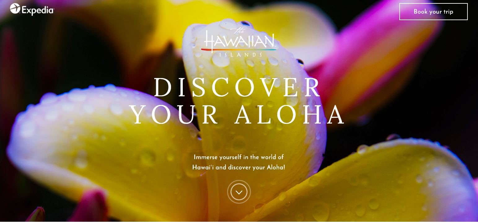 Discover Your Aloha Hawaiian facial recognition travel marketing campaign