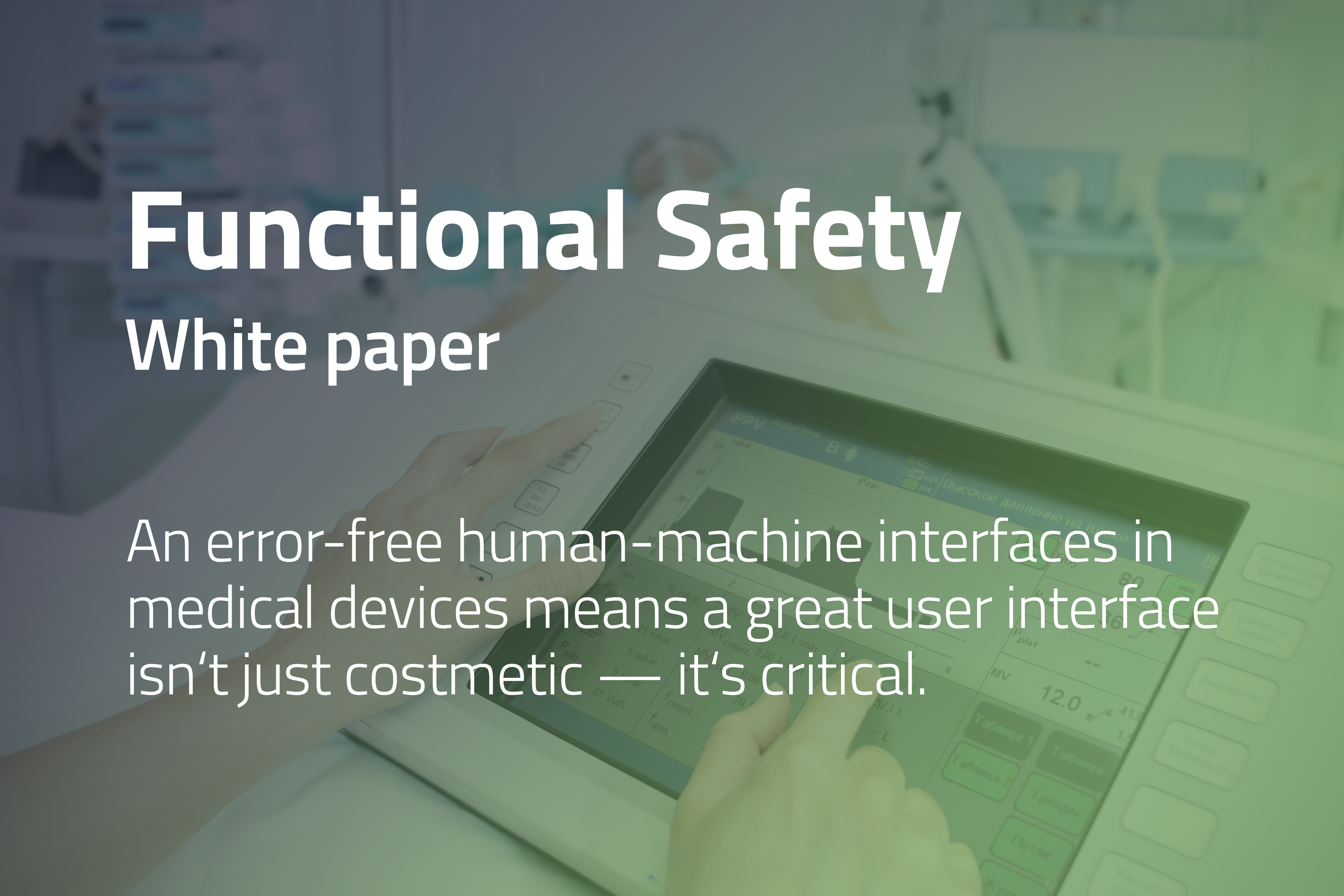 White paper: Functional Safety & Qt