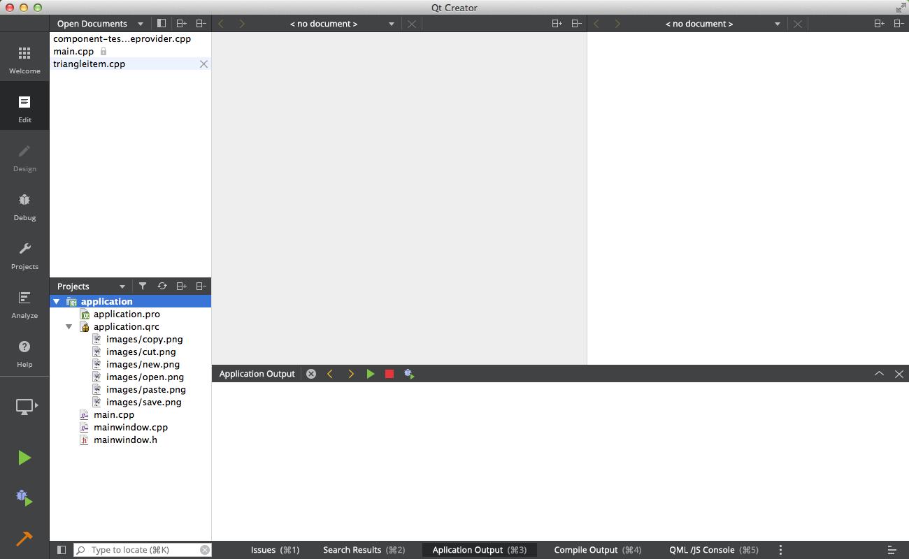 Qt Creator flat style UI design + new Light theme