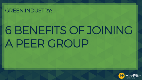 Infographic Green Industry 6 Benefits Of Joining A Peer