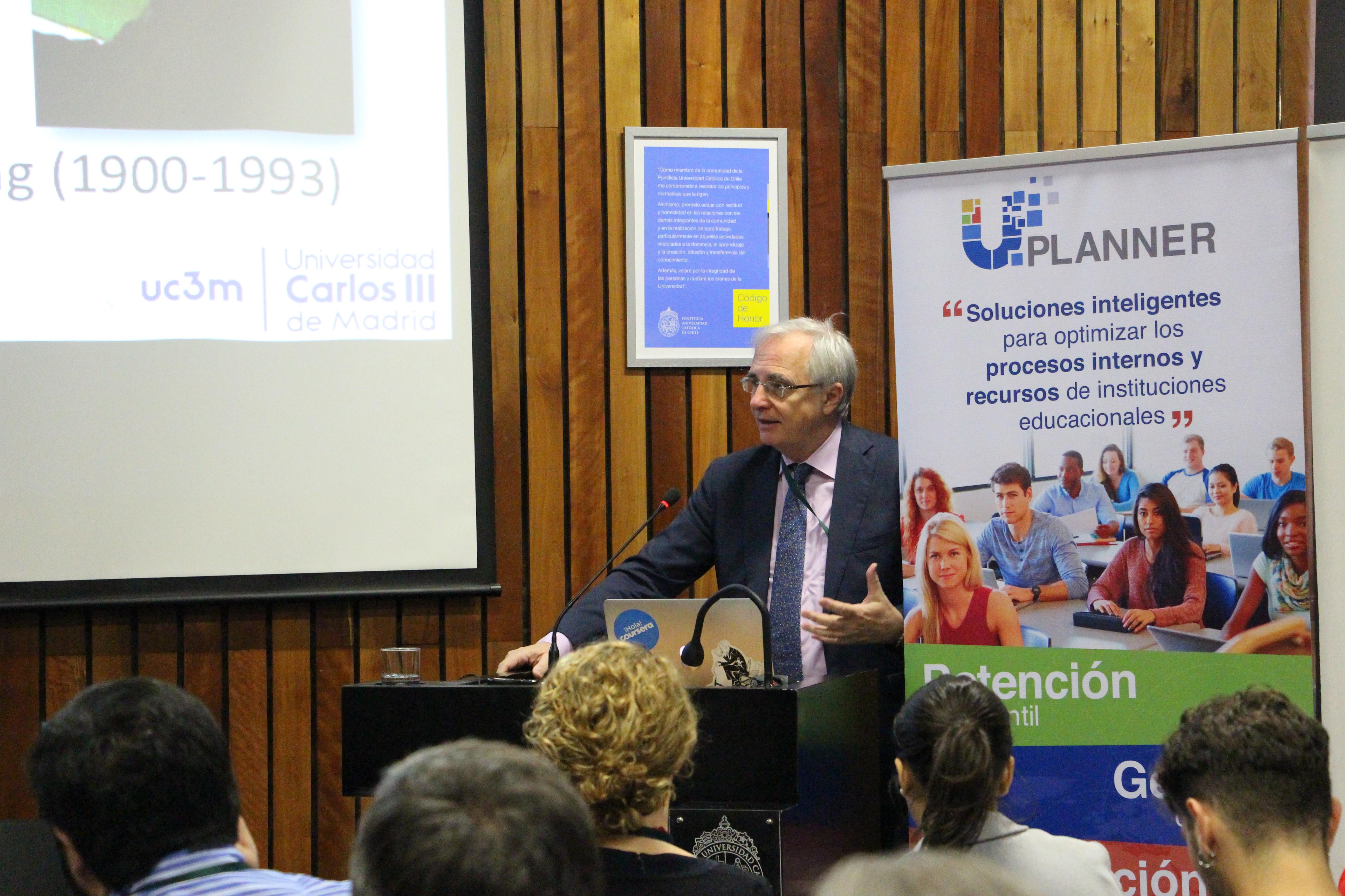 Carlos Delgado de la Universidad Carlos III de Madrid (España).