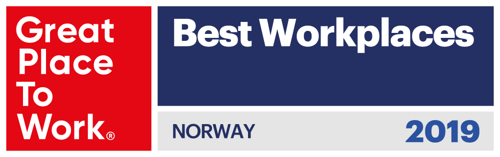 Great Place to Work Norway 2019