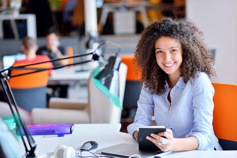 employee, office, work, training