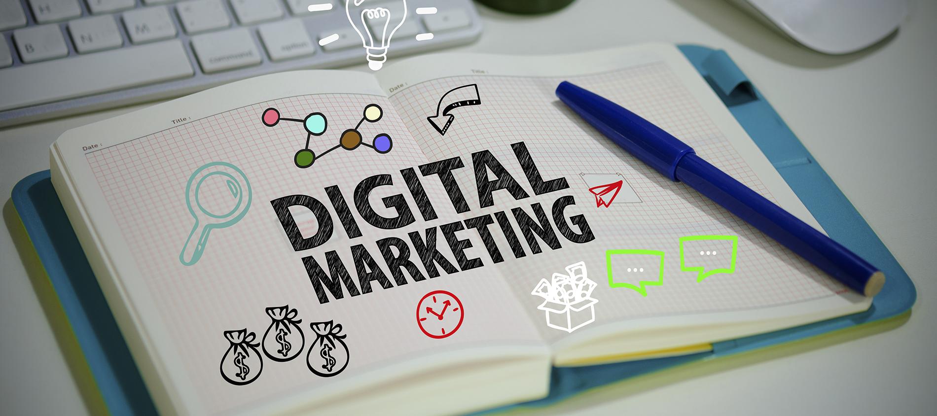 Estrategias de marketing digital - Magazine cover