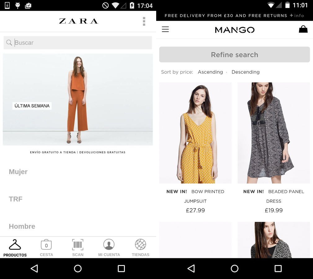 comparison of strategy of zara and Zara's operations strategy synergy between business and operations strategy zara's strategy is growth through diversification with both horizontal and.