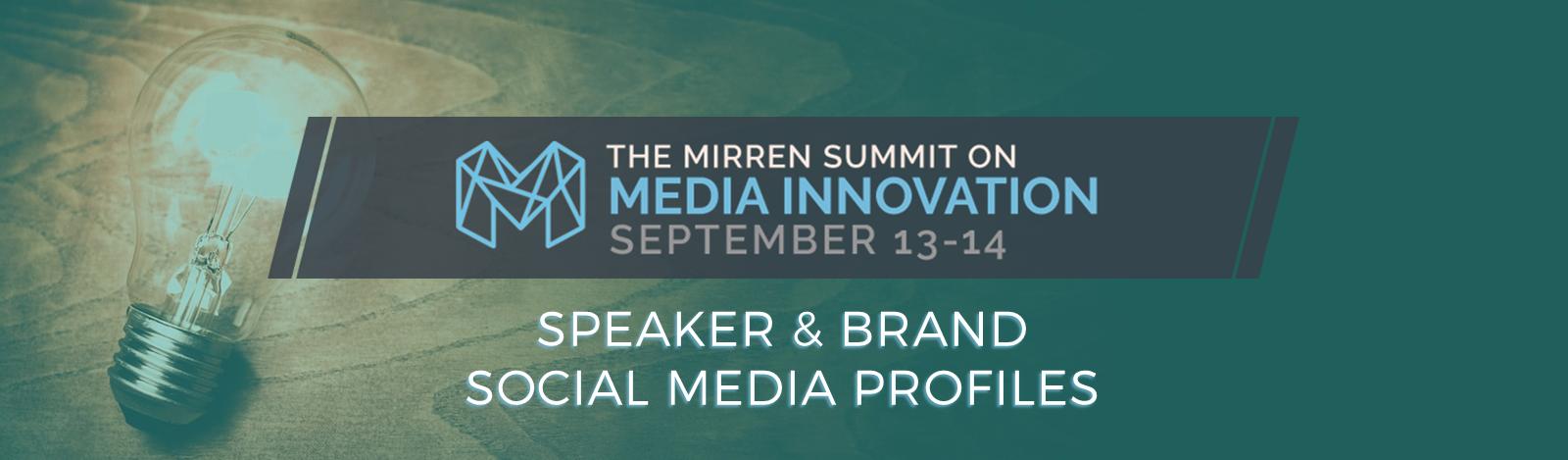 Mirren Summit Contact Cheatsheet