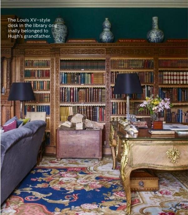Elle Decor Blog: Elle Decor's 5 Best Rooms With Designer Rugs In December 2016