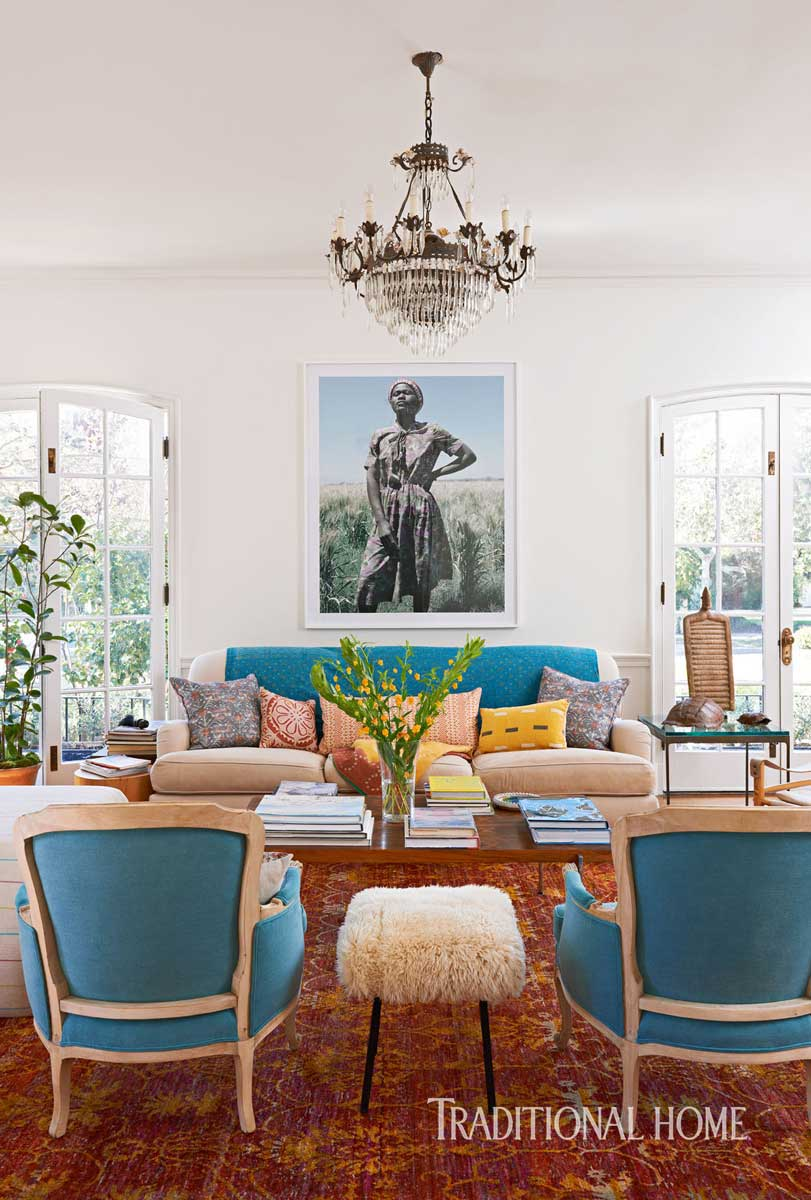 Classic Home With Art And