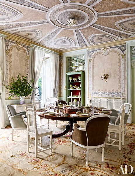architectural digest dining rooms | Architectural Digest May 2015: 6 Best Rooms with ...