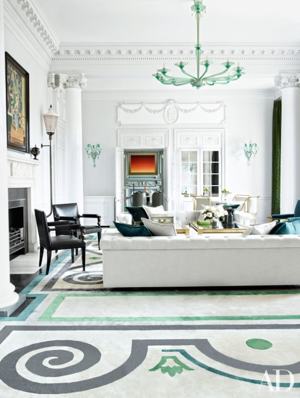 Architectural Digest February 2016 6 Best Rooms With